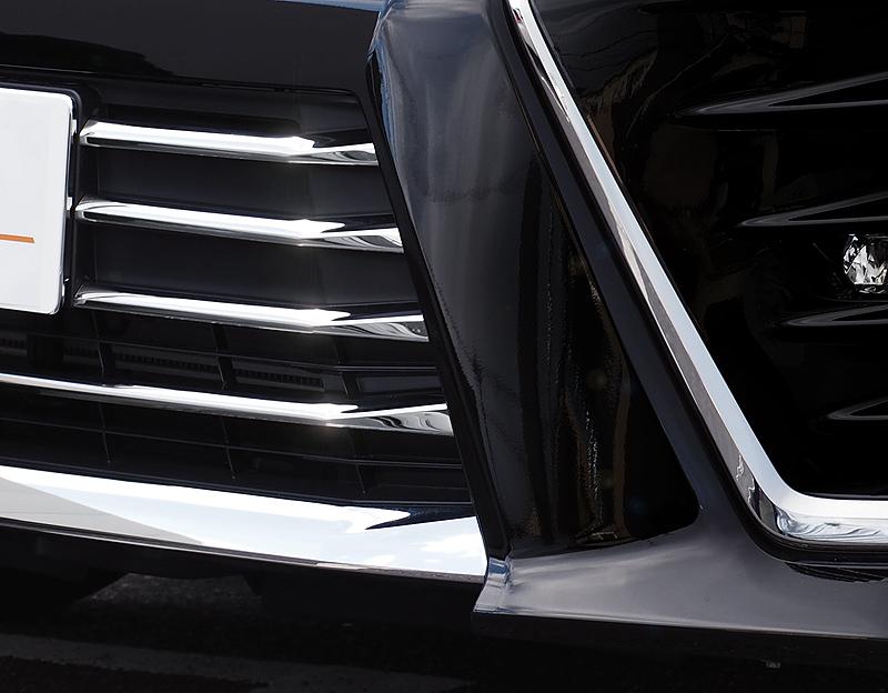 ヴォクシー ロアグリル ガーニッシュ 鏡面仕上げ 7P トヨタ TOYOTA VOXY 80系 ZS 後期 ヴォクシー 80系 煌 メッキ カスタム 専用 パーツ ドレスアップ アクセサリー オプション エアロ