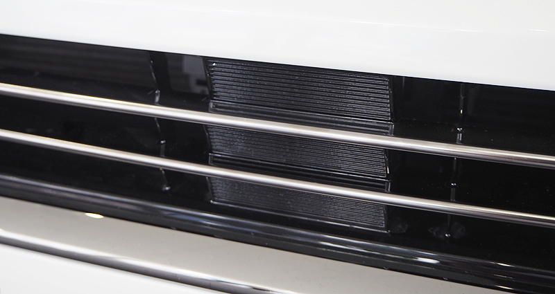 ヴェルファイア グリルガーニッシュ|トヨタ TOYOTA VELLFIRE 30系 後期 ブラッククローム近似色 エアログレード専用 パノラミックビューモニター搭載車対応 カスタム 専用 パーツ ドレスアップ アクセサリー