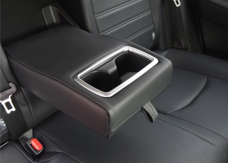 新型ハリアー 80系 リヤカップホルダーカバー 1P|トヨタ TOYOTA HARRIER 80 鏡面仕上げ サテンシルバー ブラック カーボン調 全3色 カスタム 専用 パーツ ドレスアップ アクセサリー オプション エアロ