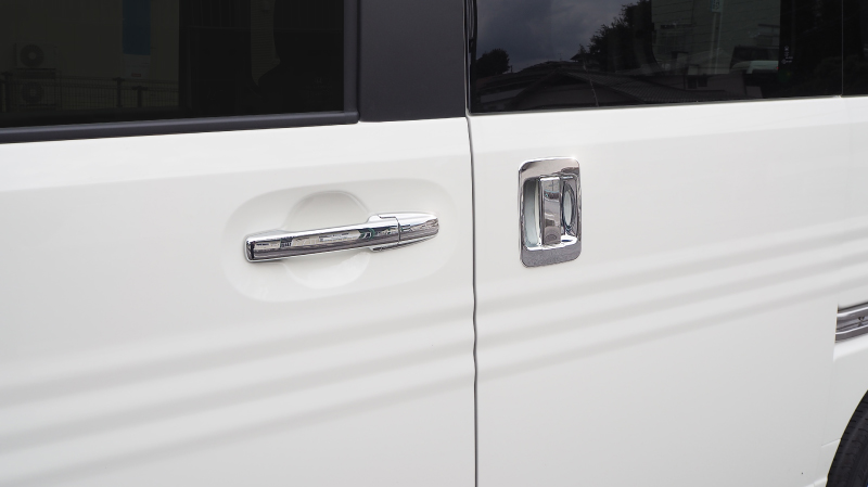 N-VAN ドアハンドルカバー 10P ホンダ エヌバン メッキ カスタム 専用 パーツ ドレスアップ アクセサリー オプション エアロ