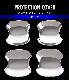 ノア/ヴォクシー ドアハンドルプロテクションカバー メッキ 4P トヨタ TOYOTA NOAH/VOXY ノア80系 ヴォクシー80系 カスタム 専用 パーツ ドレスアップ アクセサリー オプション エアロ
