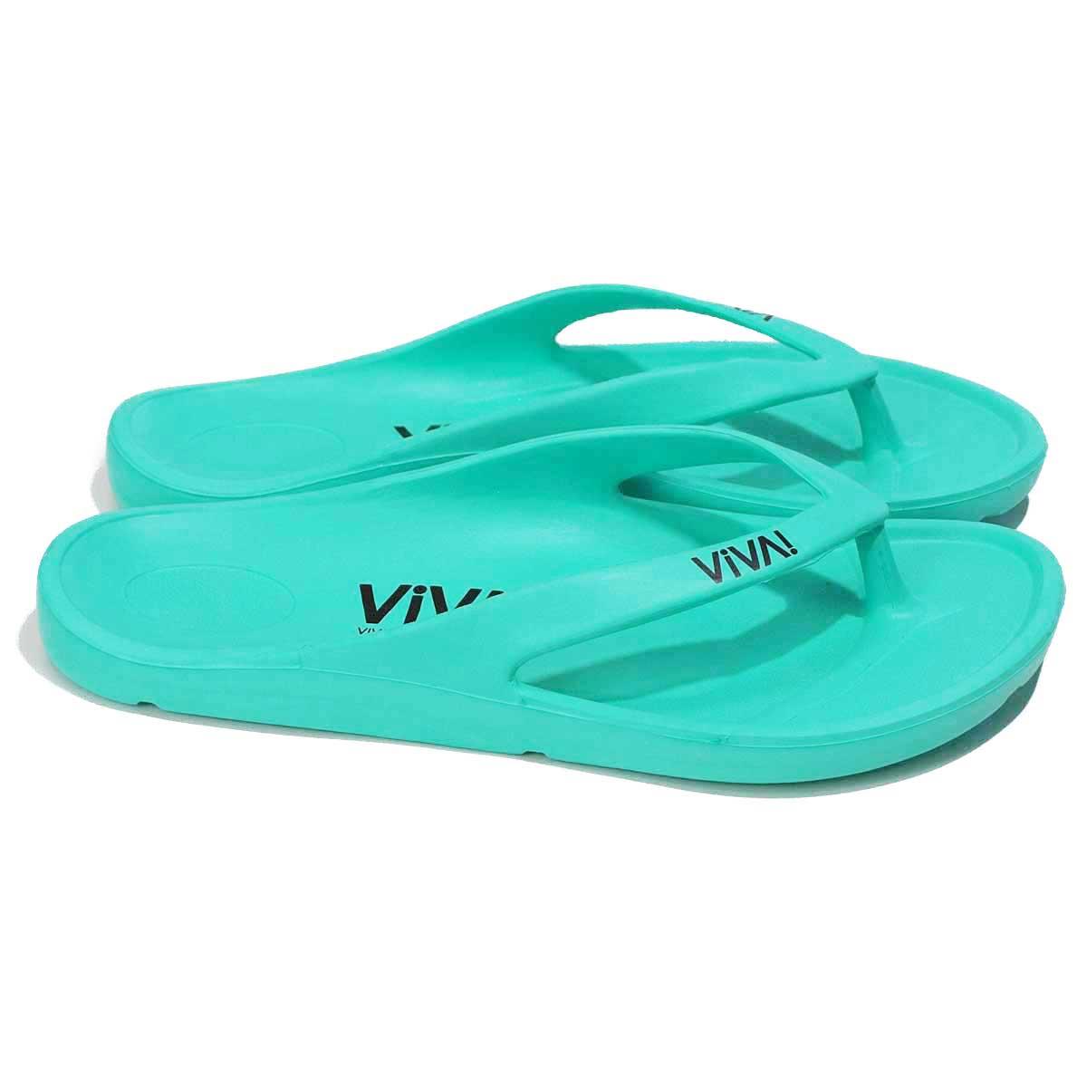 VIVA! ISLAND|(Turquoise) ビバアイランド FLIP FLOP ビーチサンダル