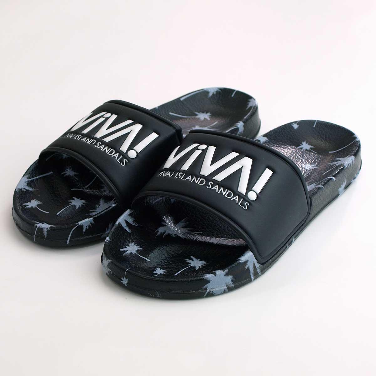 【沖縄、オフィシャルサイト限定】VIVA! ISLAND|(Black) ビバアイランド SHOWER SANDAL シャワーサンダル