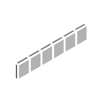 ニュアンス 50�角 片面取ネット張り(A色)