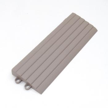 バーセア スロープ材【平】(カームグレー)◆ユニット販売