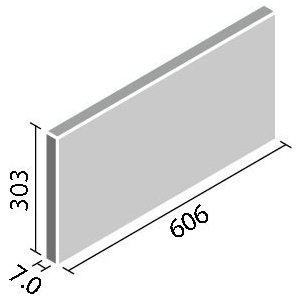 エコカラットプラス ストーングレース 606×303角平 ECP-630/STG4N チャコール