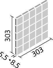 エコカラットプラス ペトラスクエア 60角ネット張り ECP-60NET/PTS2N ライトベージュ