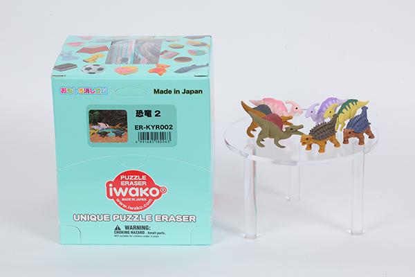 恐竜2消しゴム[60個入]