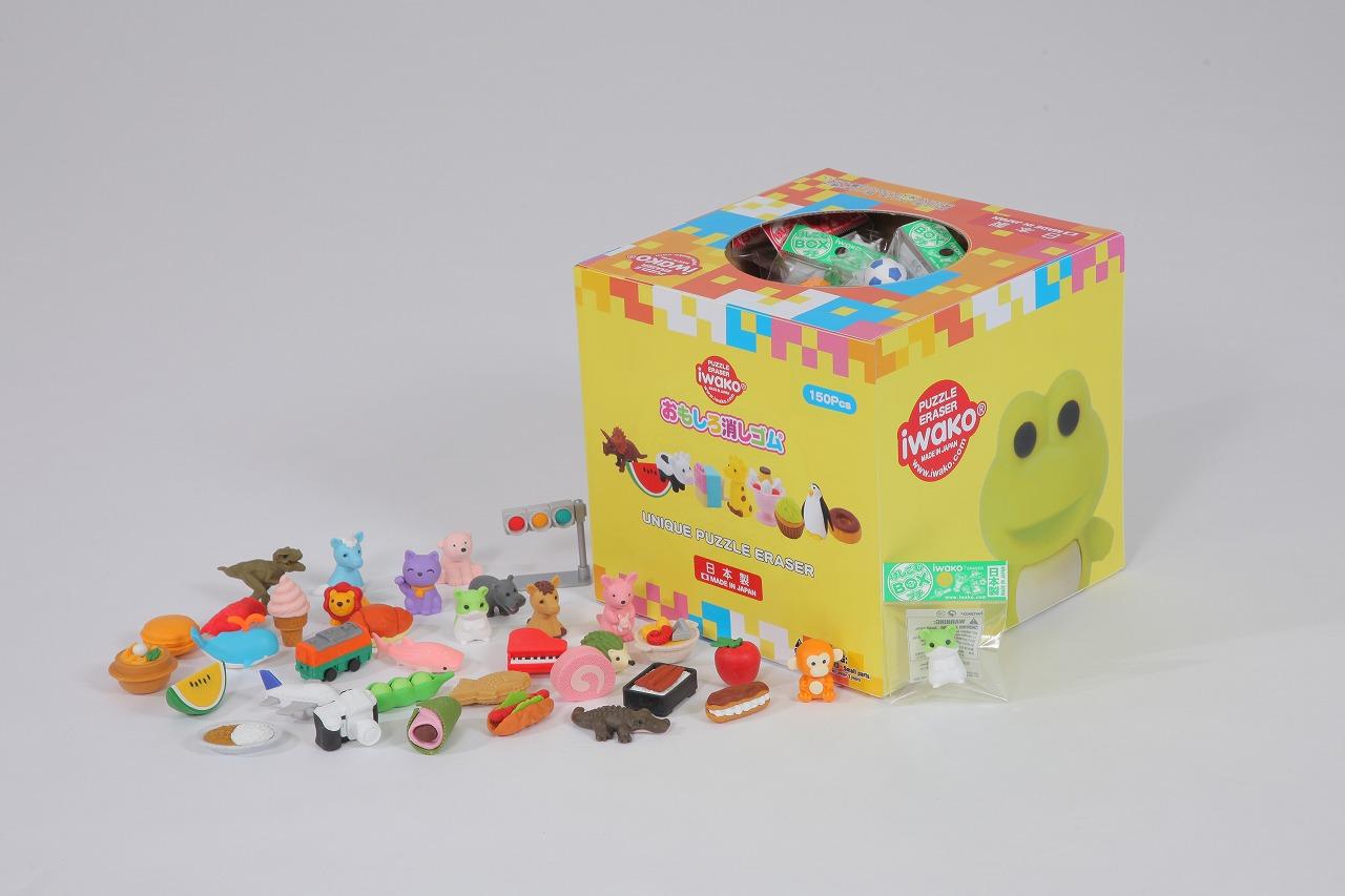 消しゴムBOXプチ(150個入り)