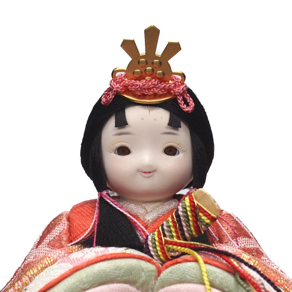 【木目込人形】rico萌香 親王揃い収納飾り〈minicola作〉
