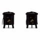 【雛人形】京十番 高雄 立涌に浮線綾文様 親王飾り〈小出松寿作〉
