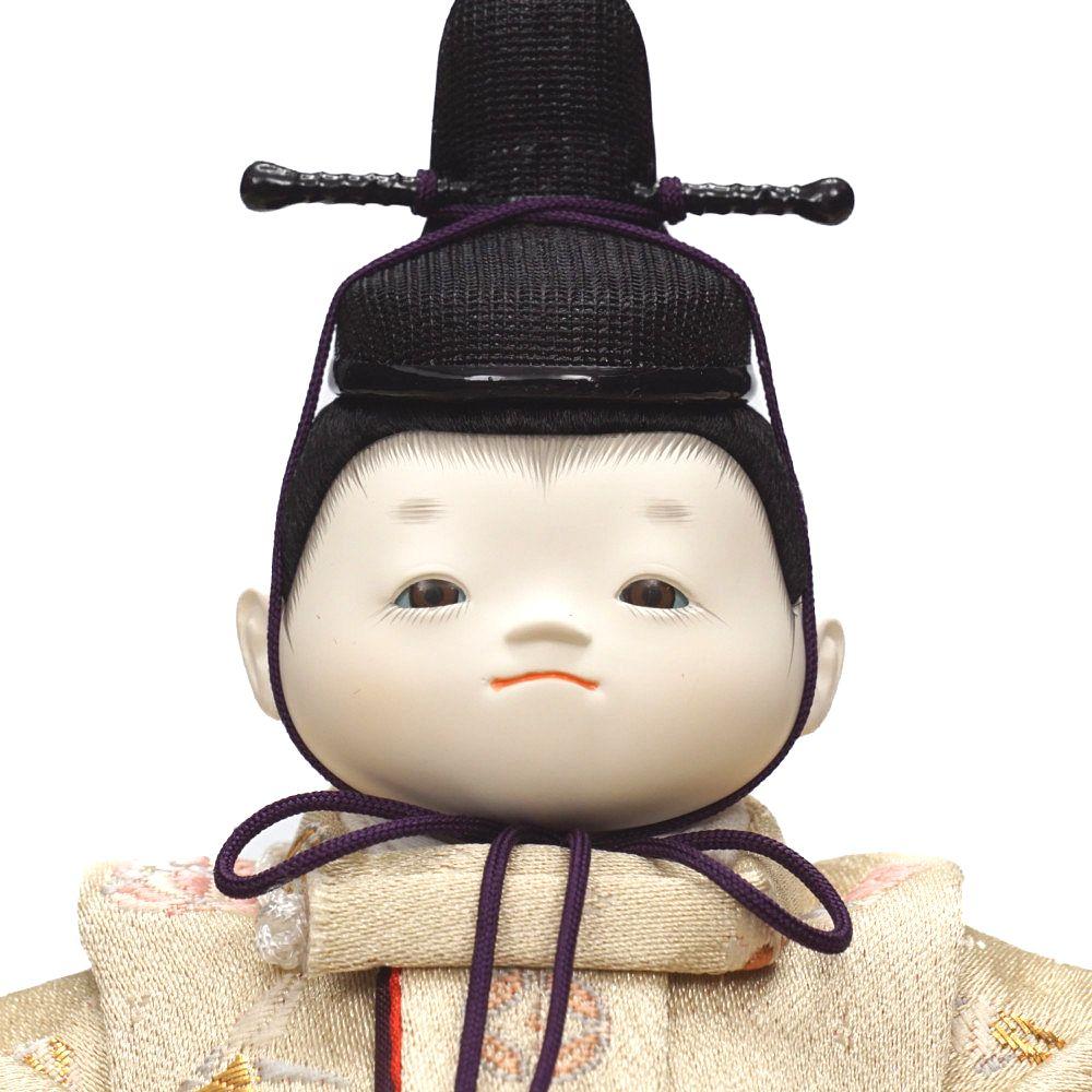 【雛人形】「月」  親王揃い収納飾り〈幸一光作〉