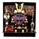 【五月人形】8号 一枚物 菊 兜飾り〈平安武久作〉