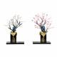 【雛人形】京十番 金唐草オーガンジー 親王揃い収納飾り〈秀叡作〉