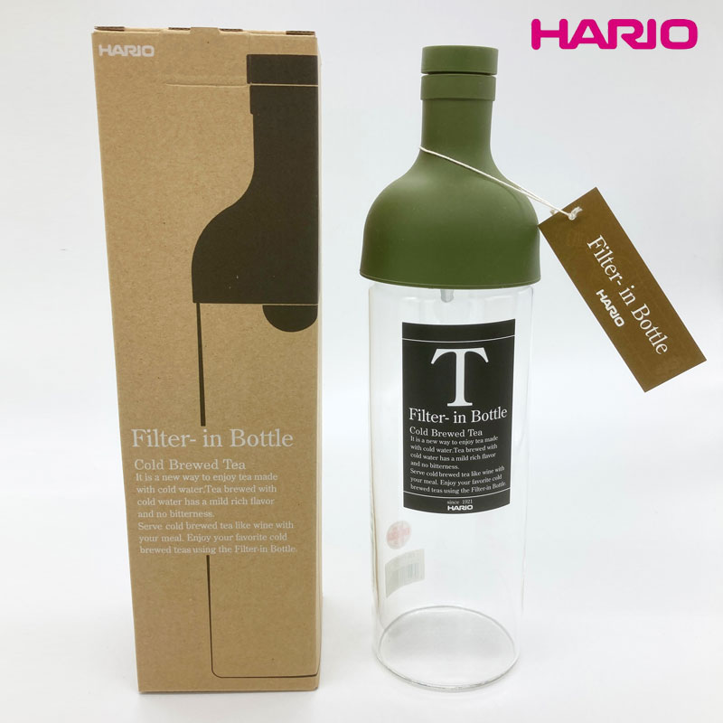 HARIO(ハリオ) フィルターインボトル 750ml オリーブグリーン 日本製 FIB-75-OG