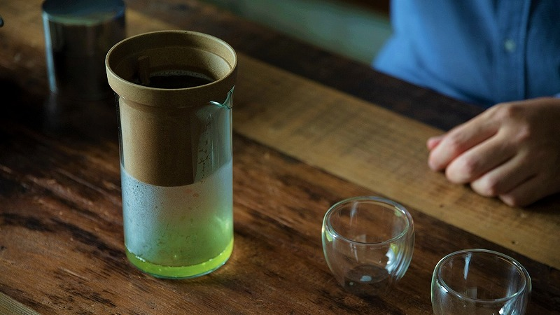 刻音 特選深蒸し茶 セット 沈殿抽出式ティードリッパー 【送料無料】 豪華セット