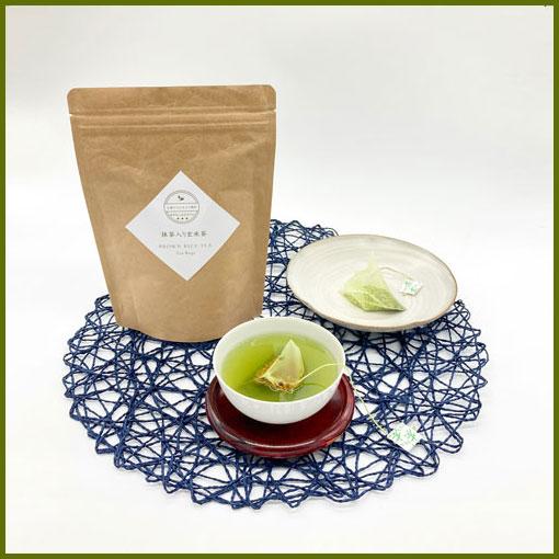抹茶入り玄米茶ティーパッグ  (5g×20袋入) 緑茶 日本茶 静岡茶 玄米茶