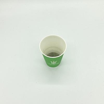 リーフティーカップ 5個入り 牧之原産 深蒸し茶 静岡茶 紙コップ Leaf Tea Cup