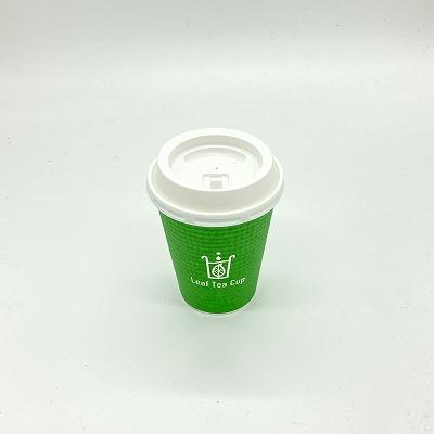 リーフティーカップ用蓋 5個入り 紙コップ Leaf Tea Cup 蓋 ふた