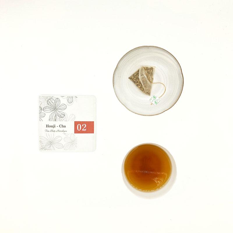 プチギフト クッキー ティーバッグ2種(緑茶、ほうじ茶) 選べるメッセージラベル