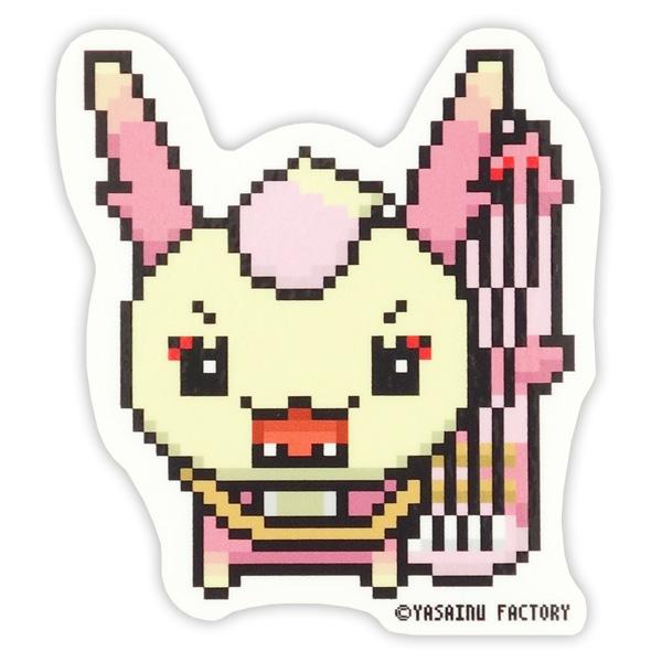 シンショウガ☆モモコ DOT耐水ステッカー