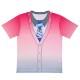 一翔剣×岩下の新生姜コラボカーディガン風Tシャツ