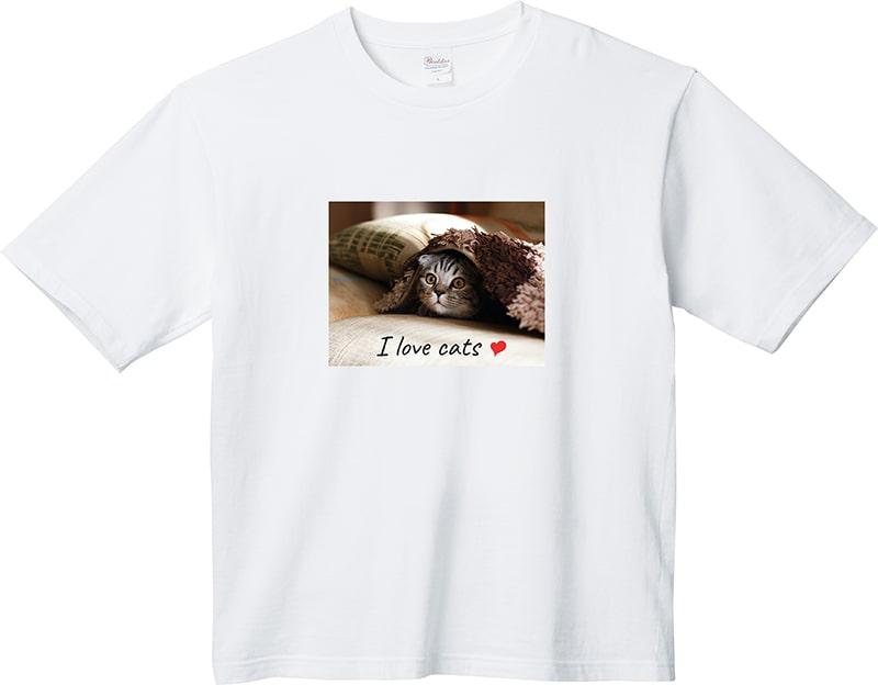 うちの猫ちゃんでつくる!ビッグTシャツ【チャリティー企画第4弾!】