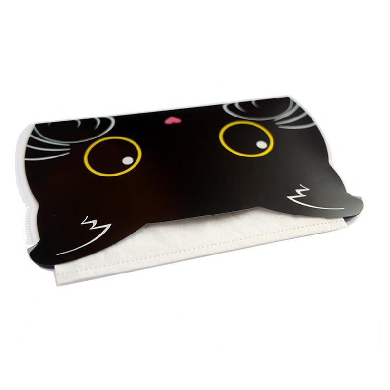 オリジナルマスクケース 猫型 (オリジナルステッカー付)  抗菌仕様