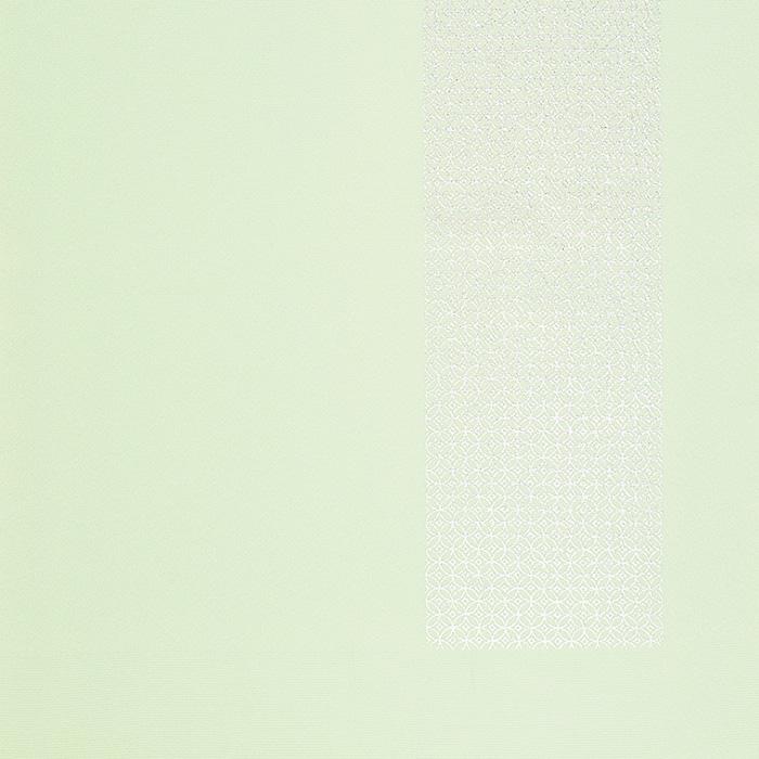 帯揚げ 銀箔七宝つなぎ