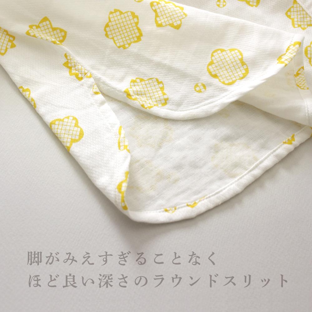 ガーゼワンピース「りんりん」 【ネコポス不可】