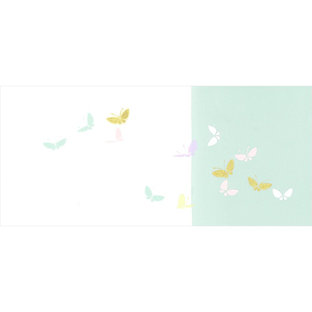 新塩瀬帯 春の柄「染分け小蝶」