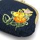 刺繍がま口「花ごよみ」(大)