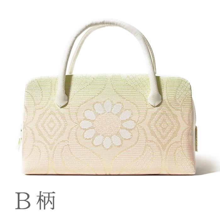 夏の葵バッグ「立枠にひまわり」(小)