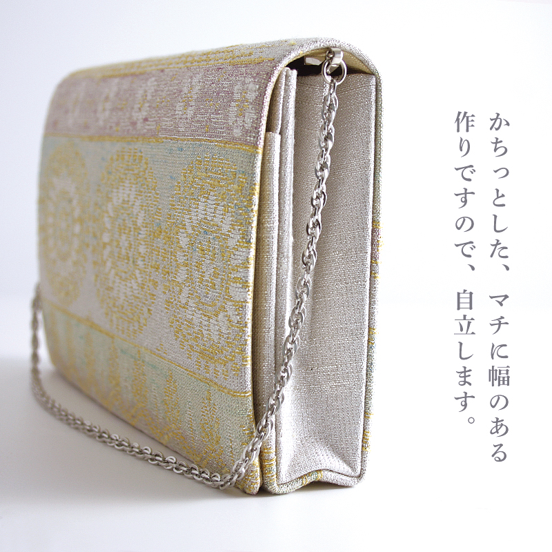パーティーバッグ 2wayクラッチ「ねん金綴モール露彩文」A
