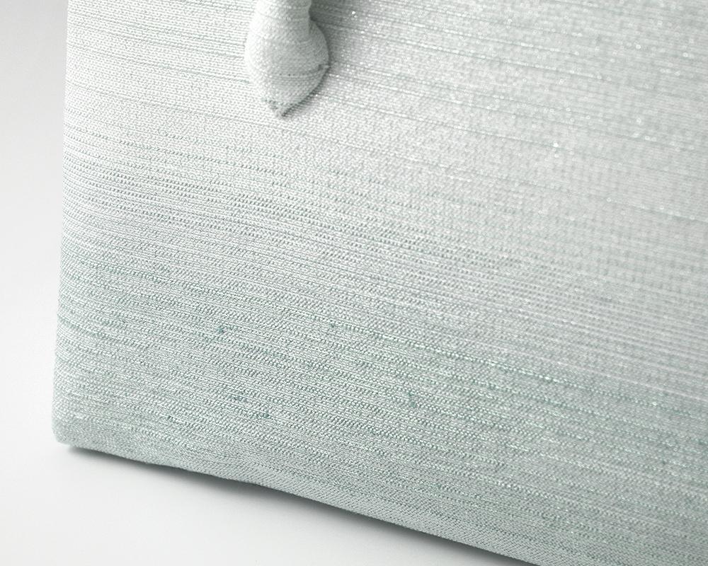 葵バッグ「彩ぼかし」水色(小)
