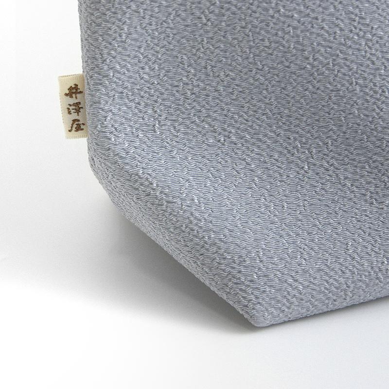 道中バッグ横長「結い葵」(全3色) 【ネコポス不可】