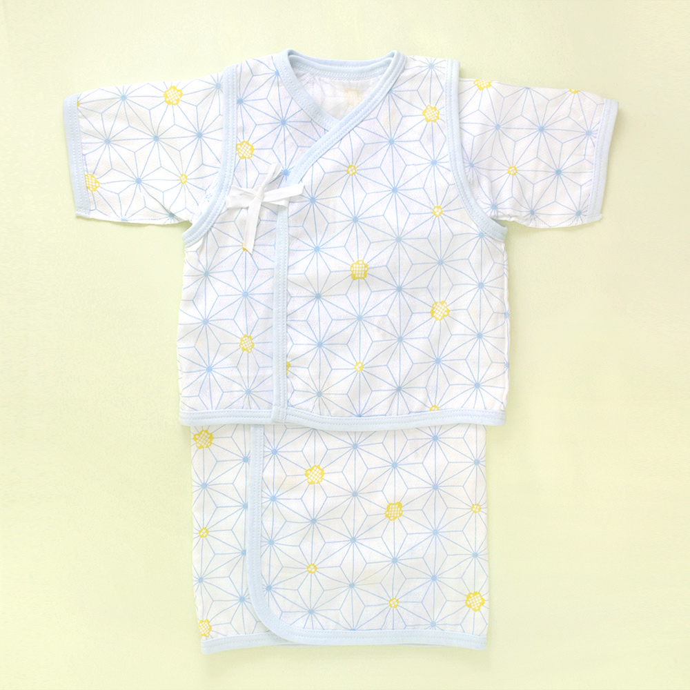 赤ちゃん用ガーゼ肌着セット「麻はな」
