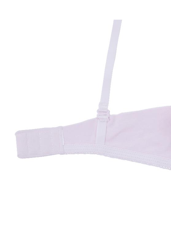 【タイニープリンセス】3/4CUP グラデーションシフォンブラジャー (ピンク) 小胸 ブラ パカパカしないブラ パカパカ フィット A AA AAA Aカップ 小さいサイズ 小さめ  インナー レディース