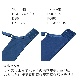 【D90〜G95】デコルリッチブラ(ブルー/ライトグレー) ブラジャー 大きいサイズ ブラ 女性下着 ランジェリー プラスサイズ 谷間 盛れる 盛る 下着 美胸 Dカップ Eカップ Fカップ Gカップ アンダー 85 90 95  ワイヤーブラ
