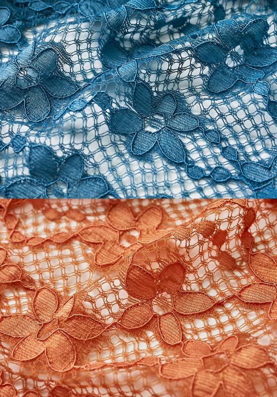 【タイニープリンセス】ラッセルレースブラレット(ブラウン/ブルー) 小胸 ブラ ノンワイヤー  フィット S M Aカップ 小さいサイズ  小さめ  インナー レディース