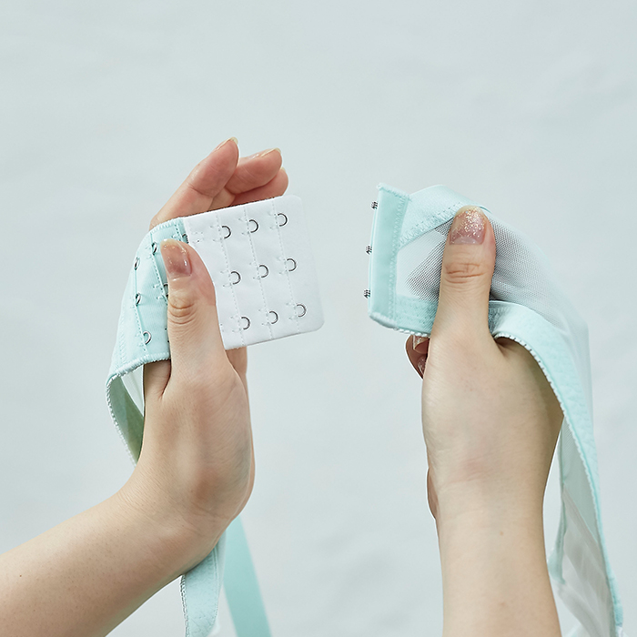 【グラマープリンセス】延長フック同色3枚組(オフホワイト/ブラック/ベージュ)