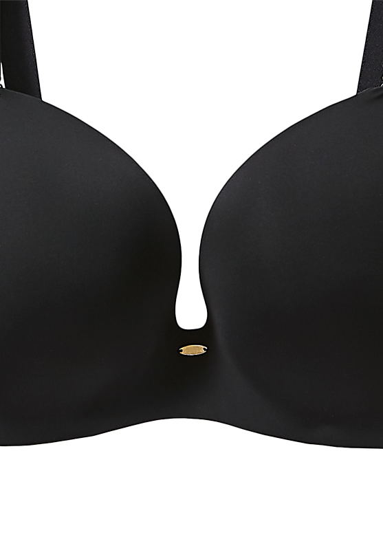 【グラマープリンセス】モールドノンワイヤーブラジャー(ブラック/ベージュ) ノンワイヤー ブラジャー 大きいサイズ 3L 4L 5L ブラ 女性下着 ランジェリー 美胸 プラスサイズ ワイヤレス 楽 ラク 楽ちん