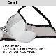 【グラマープリンセス】しっかりホールド・美胸キーパー3/4カップブラ(オレンジ/ブラック)大きいサイズ Eカップ Fカップ Gカップ Hカップ アンダー 85 90 95 100 105ブラ 女性下着 ランジェリー 美胸 プラスサイズ ブラジャー ワイヤーブラ