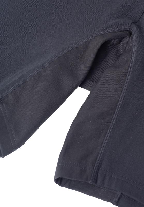 【グラマープリンセス】股ズレ防止スパッツ (ブラック) プラスサイズ 大きいサイズ 3L 4L 5L 股ずれ 下着  ショーツ レディース スパッツ ボトム ラク 楽 1枚履き 1枚ばき綿混 抗菌防臭 ニオイ 防臭