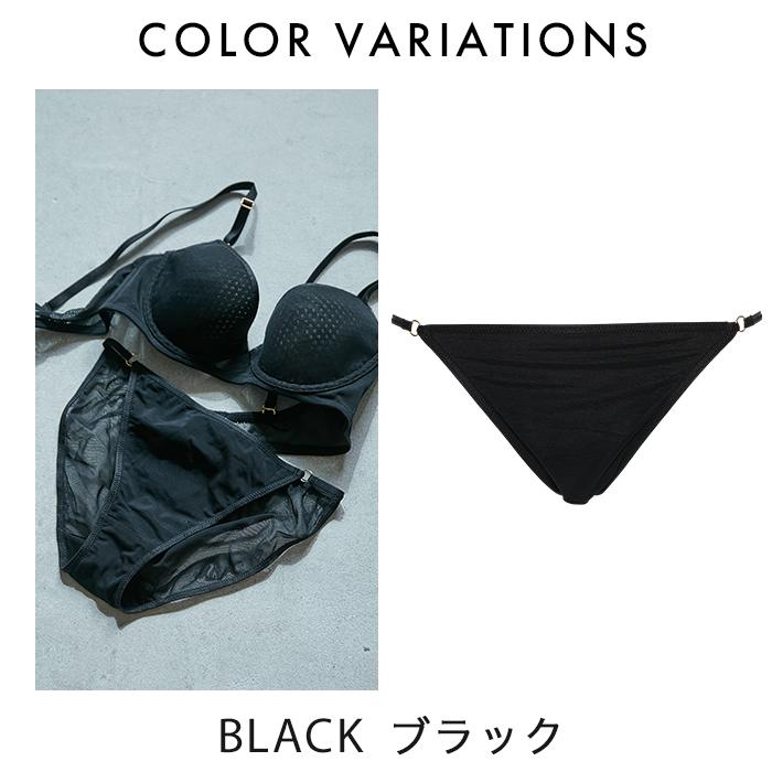 【ビューティープリンセス】Zero Fit Coolペアショーツ(カーキ/ブラック)ショーツ パンツ パンティ 女性下着 ランジェリー 下着 レディース M L LL