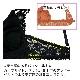 【Lingerie×タイニープリンセス】デイリーブラレット(カーキ/ブラック) ミヤマアユミ 小胸 ブラ ノンワイヤー フィット S M Aカップ 小さいサイズ 小さめ インナー レディース