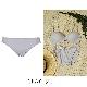 【タイニープリンセス】響きにくい・つるんと丸胸メイクアップペアショーツ(ライム/グレー/ブラック)
