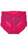 【Peach glam】ショーツガードル(ブラック/ピンク) スタンダードショーツ パンティー 大きいサイズ 3L 4L 5L 下着 レディース 女性 パンツ パンティ レディースショーツ プラスサイズ ショーツ