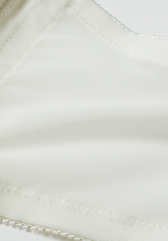 【グラマープリンセス】楽してバストメイク・美胸ノンワイヤーブラ(ターコイズ/アイボリー) ノンワイヤー ブラジャー 大きいサイズ 3L 4L 5L ブラ 女性下着 ランジェリー 美胸 プラスサイズ ワイヤレス 楽 ラク 楽ちん