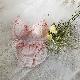 【グラマープリンセス】しっかりホールド・美胸キーパー3/4カップブラ(ピンク/オフホワイト)